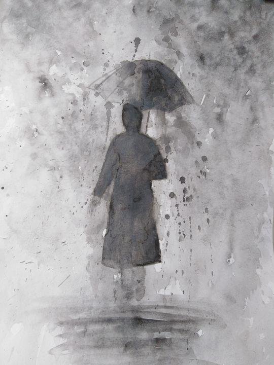 """""""Loneliness"""" - LebedevaArt"""