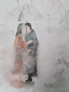 """Under rain"""