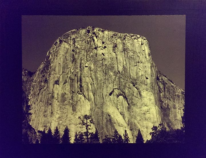 Half Dome (Mixed Media:Photo/Canvas) - Imagevoxstudio  Gallery