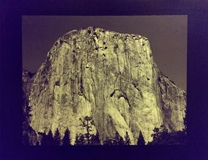 Half Dome (Mixed Media:Photo/Canvas)