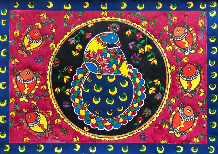 Peacock the bird - Puja