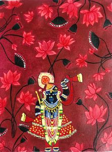 Water lilies and Shrinathji
