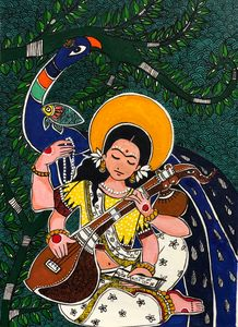 Saraswati- the goddess of wisdom