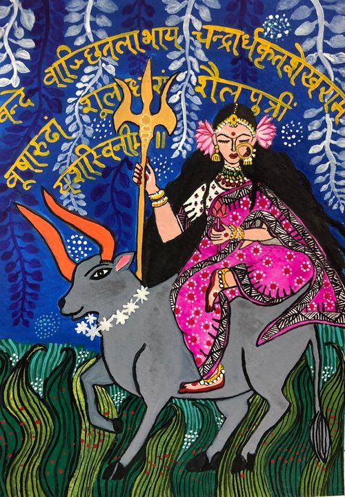 Mother Nature - Shailputri - Puja