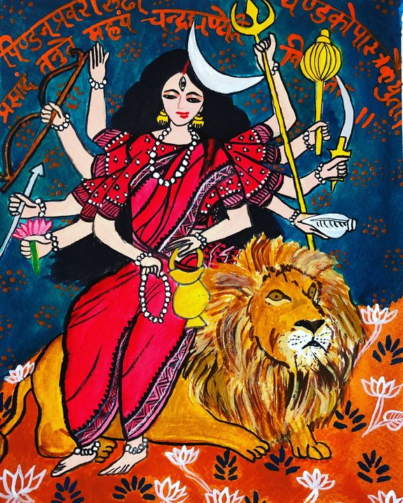 Goddess Chandraghanta - Puja