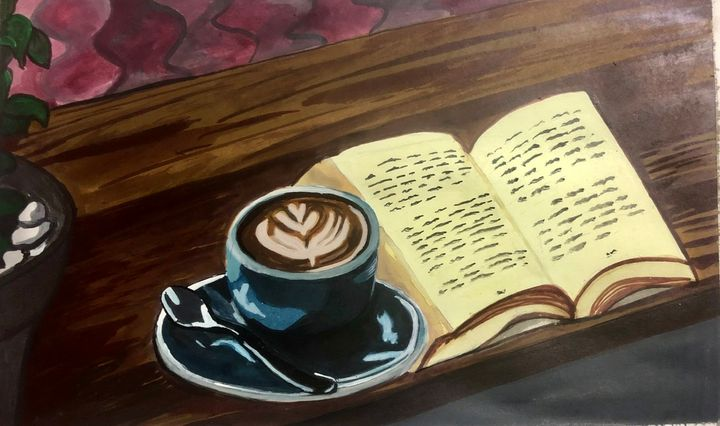 My cup of coffee - Puja