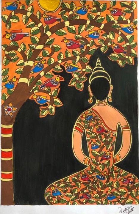 Buddha at peace - Puja