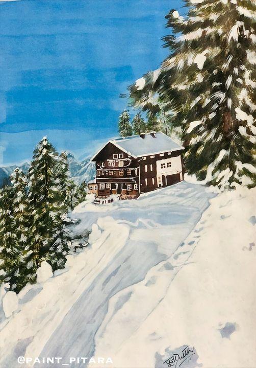 Winter cottage - Puja