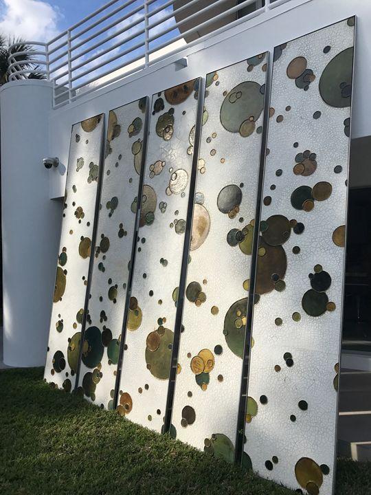 5 Boprae Sculptural Art Panels - Rob Vystana