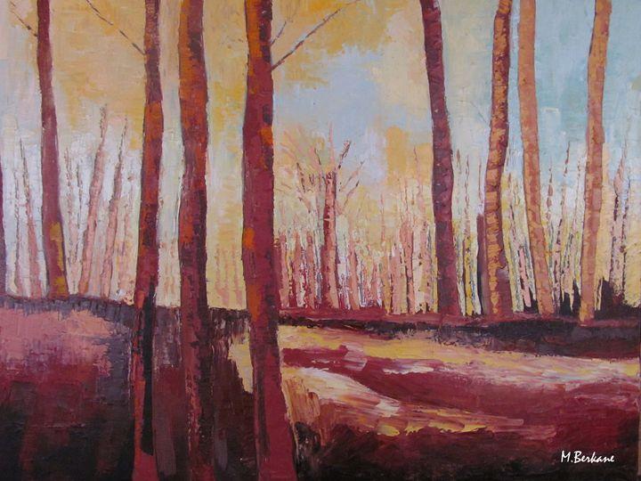Sous les bois - Berkan'Art