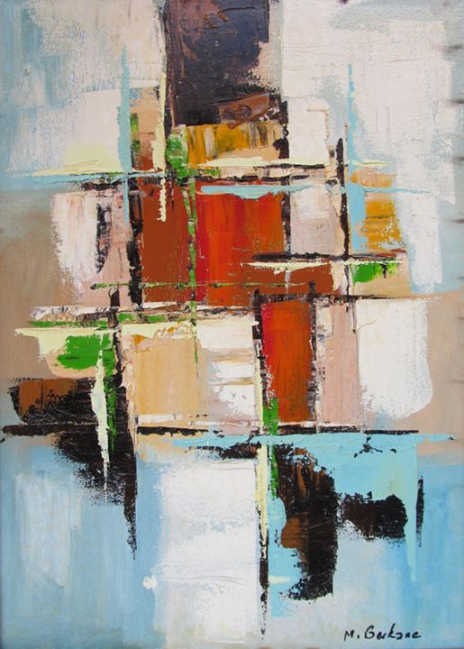 Moderne composition - Berkan'Art
