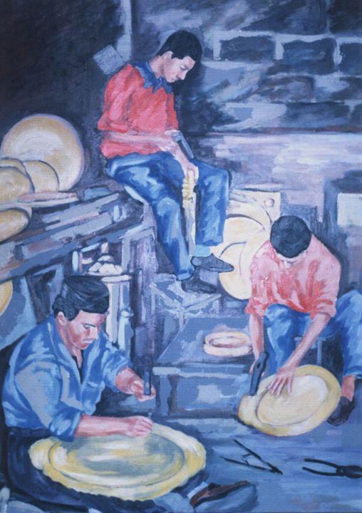 Les dinandiers - Berkan'Art
