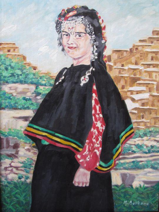 Fille chaouia - Berkan'Art