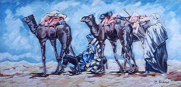 La caravane - Berkan'Art