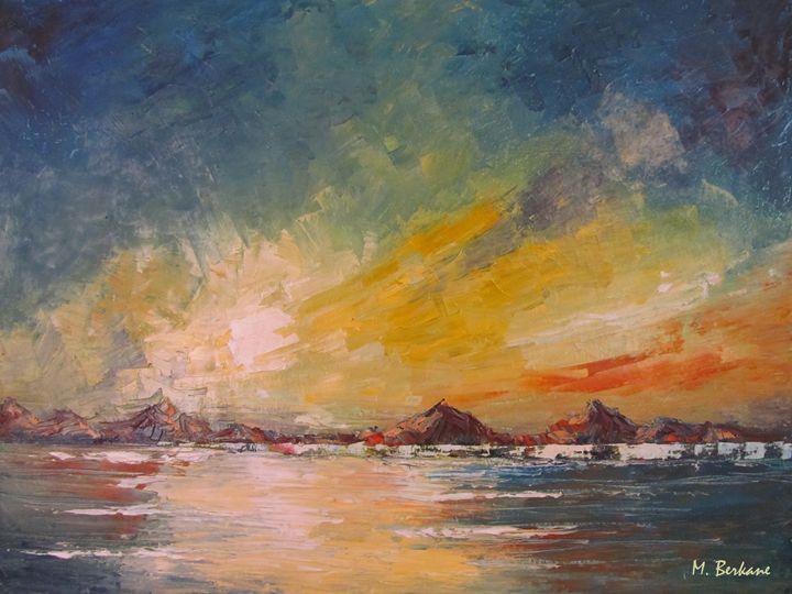 Coucher de soleil 02 - Berkan'Art
