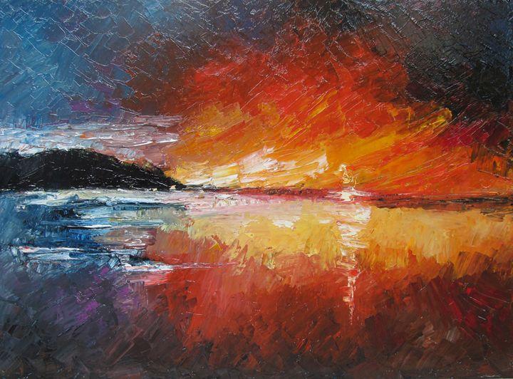 Coucher de soleil - Berkan'Art
