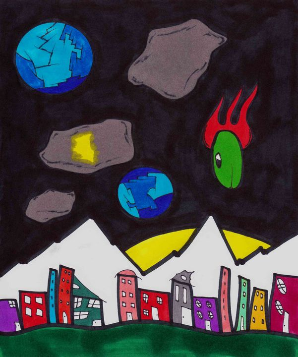 Space Town - Chadwyck Nordlander
