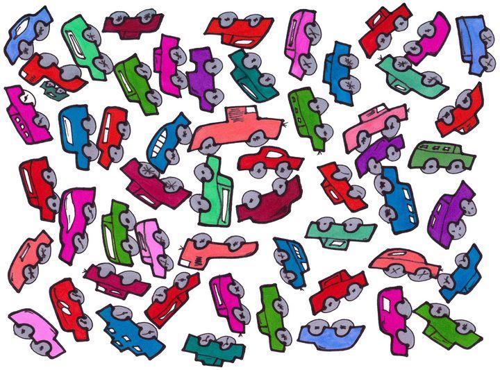 Floating Cars - Chadwyck Nordlander