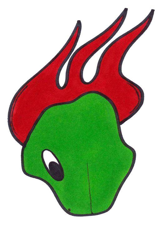 Flaming Asteroid - Chadwyck Nordlander