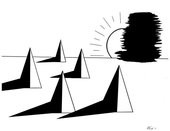 Pyramids - E.S.Locher