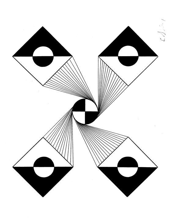 center squared - E.S.Locher
