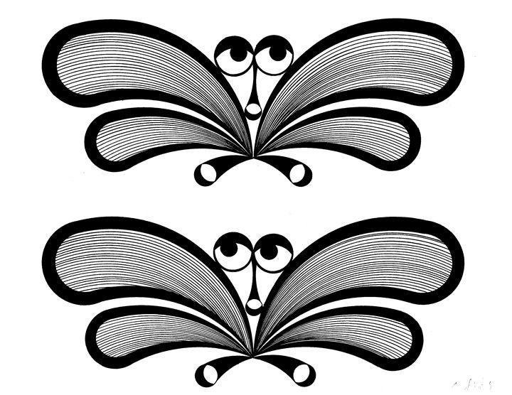 Butterflies - E.S.Locher