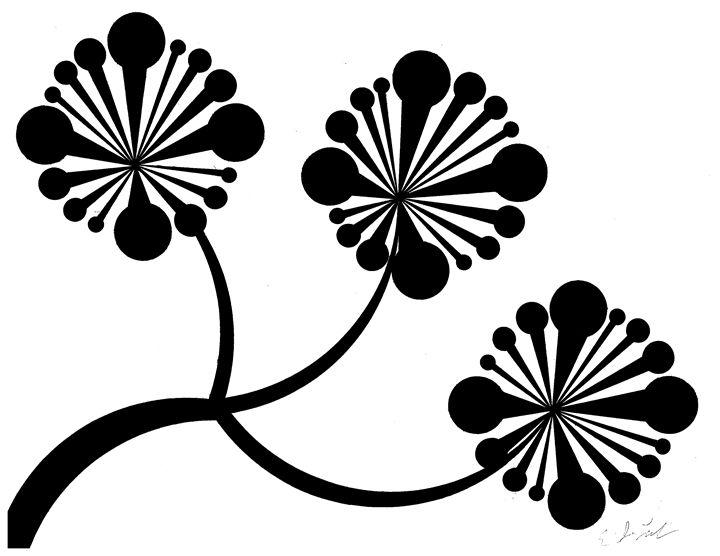 Dark Flowers - E.S.Locher