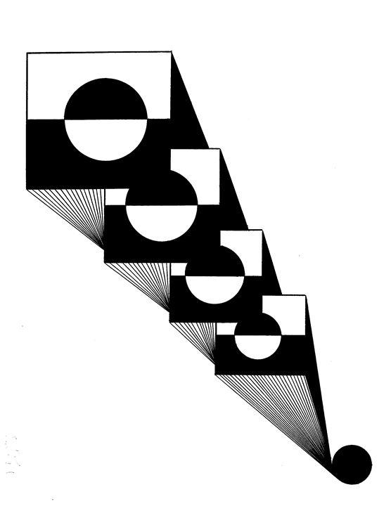 Square Depth - E.S.Locher