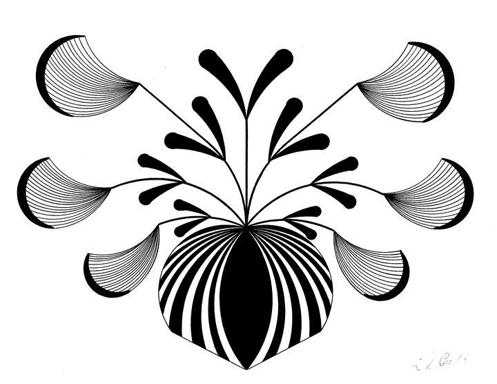Floral Design - E.S.Locher