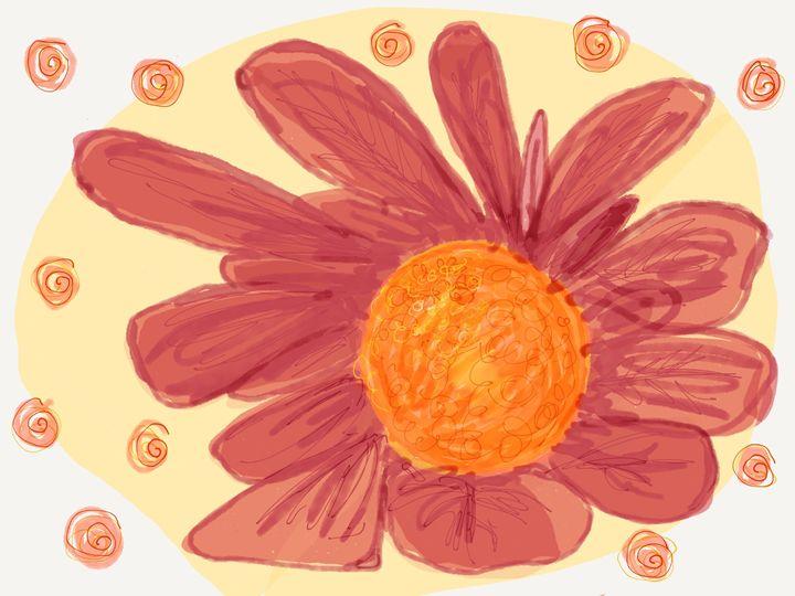 Red flower - DMB art studio