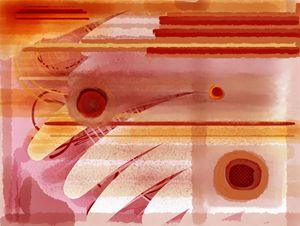 Abstract circular 001