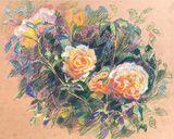 Original Rose painting