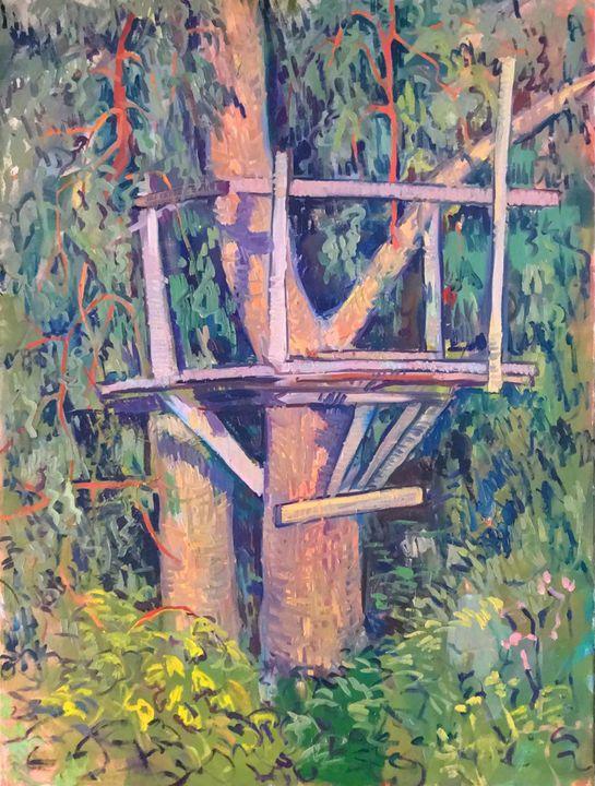 Tree house painting - Mavko