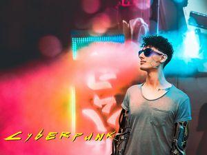 Cyberpunk 2077 Cyborg Artworl