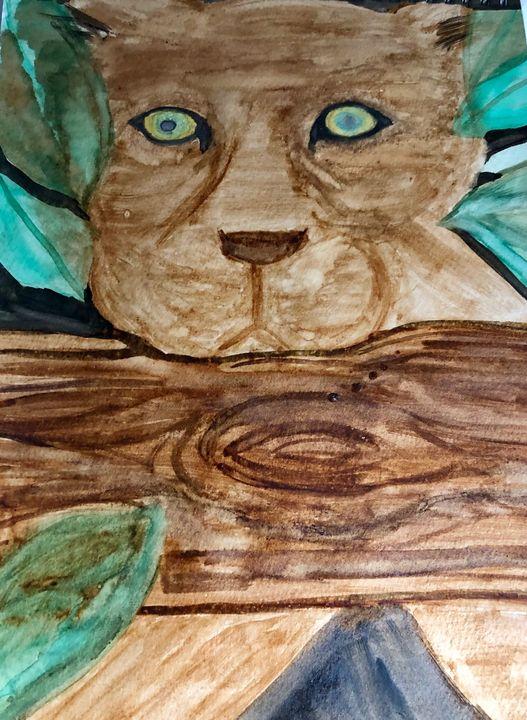 Jungle Cat - She Paints
