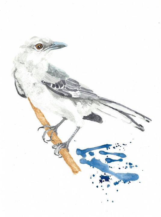 Northern mockingbird - REV Originals