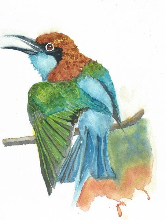 Blue-throated bee eater - REV Originals