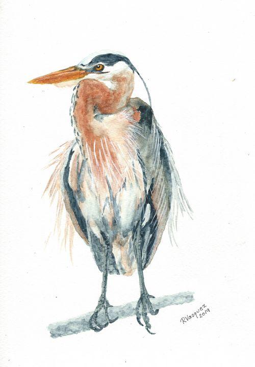 Great blue heron - REV Originals