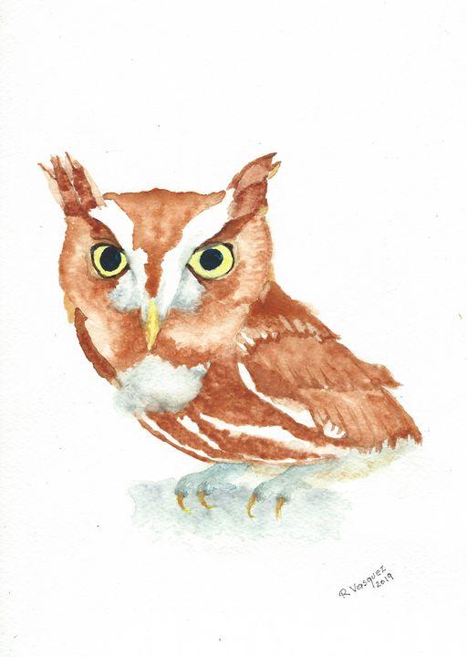 Eastern screech owl - REV Originals