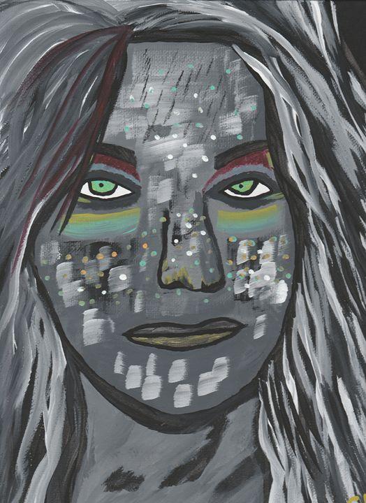 Amazonian Woman - Photos / Digital Art / Paintings
