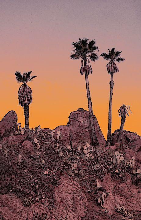Dry Skies - Photos / Digital Art / Paintings