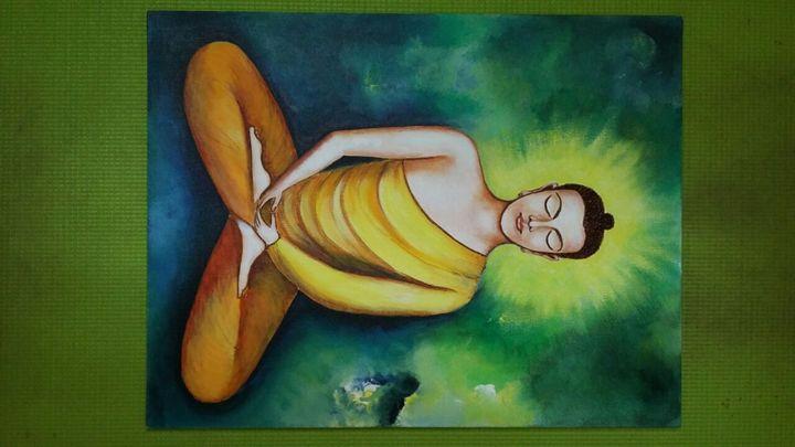 Meditating Buddha - Richa Singh