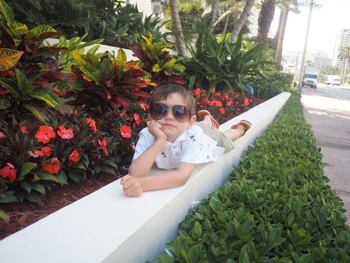 Boy Posing - Liana