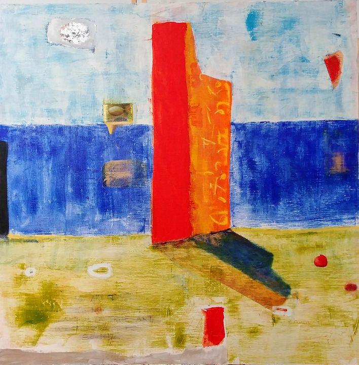 Silo Takes a Day Off - Robert Canaga's Studio