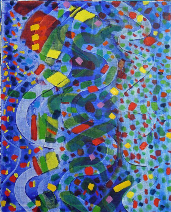 Art IS the Fourth Dimension - Robert Canaga's Studio