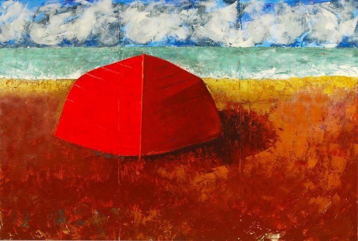 Red Boat - Robert Canaga's Studio