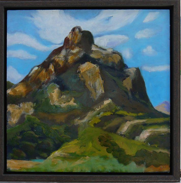After William Wendt - Robert Canaga's Studio