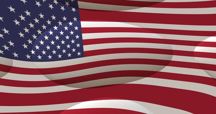 USA Flag - Mumdzhiev