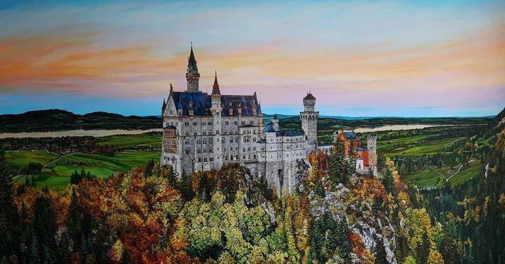 Neuschwanstein castle - VictoriaKolomyArt