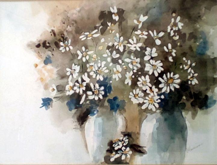 White Daisies - Flower Shop